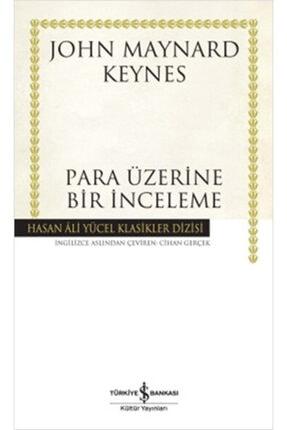 İş Bankası Kültür Yayınları Para Üzerine Bir Inceleme