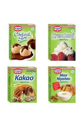 Dr. Oetker Glutensiz Çikolatalı Sos,krem Şanti,mısır Nişastası,kakao Avantaj Paket