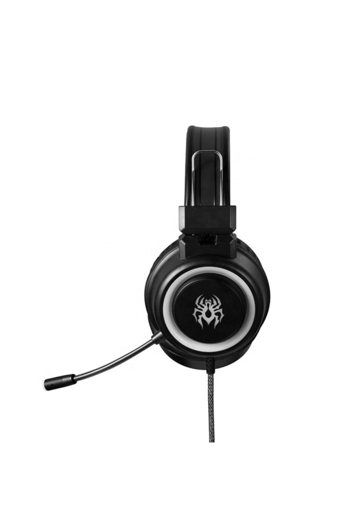 OWWOTECH Yoro V5 Profesyonel Oyuncu Kulaklığı Rgb Kablolu Işıklı Mikrofonlu Kulaklık Usbli+3.5 Mm Jack 2