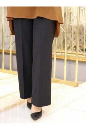 Famelin Kadın Bol Paça Beli Lastikli Pantolon