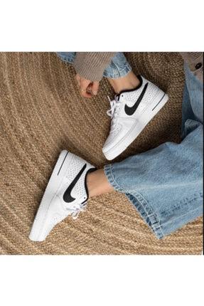 Nike Kadın Beyaz Spor Ayakkabı Air Force 1 Gs