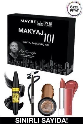 Maybelline New York Alp Kavasoğlu Makyaj Başlangıç Kiti + 3 Aylık Blu Tv Üyeliği Hediye