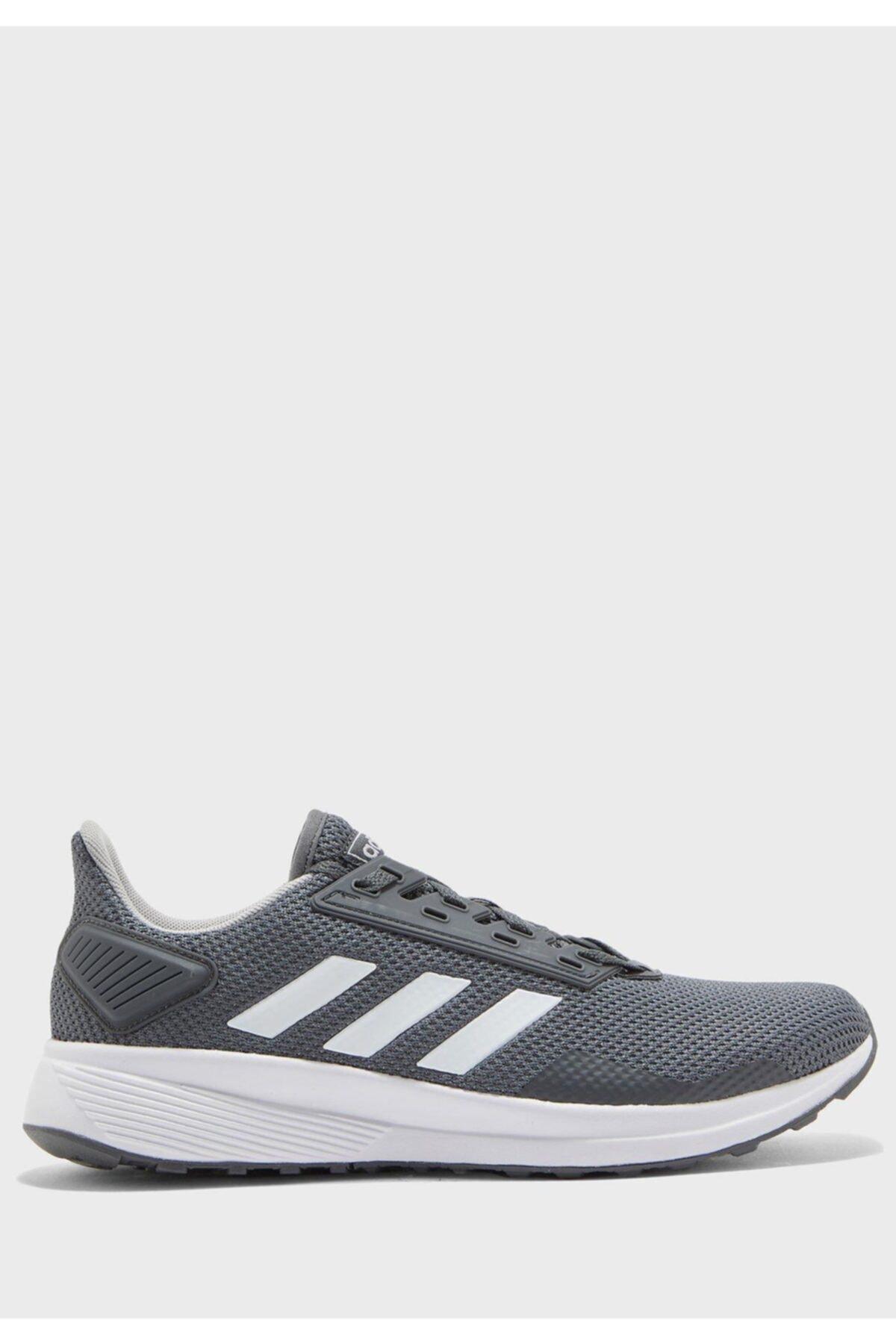 adidas DURAMO 9 Gri Erkek Koşu Ayakkabısı 100546334 1