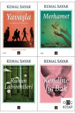 Kapı Yayınları Kemal Sayar 4 Kitap Set Yavaşla Kendine İyi Bak Merhamet Ruhun Labirentleri