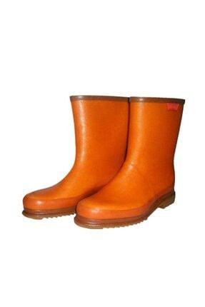Derby Unisex Kahverengi Krep Çizme