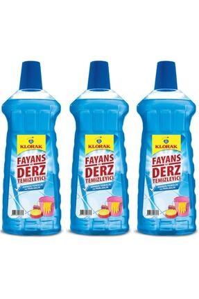 Klorak Fayans Ve Derz Temizleyici (mavi Su) 970 ml* 3 adet