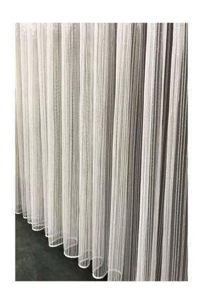 Taç Çizgi Tül Perde 1/3 Pile 300x250