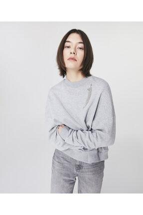 Twist Broş Detaylı Sweatshirt