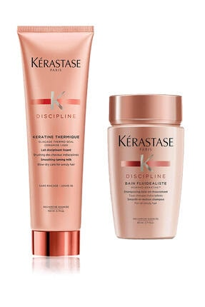 Kerastase Discipline Keratine Thermique Isı Karşıtı Saç Kremi 150ml + Discipline Şampuan 80ml