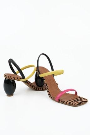 Marjin Invez Kadın Topuklu Sandaletmulti 1