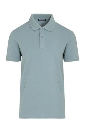 Hatemoğlu Mavi Polo Yaka Tişört