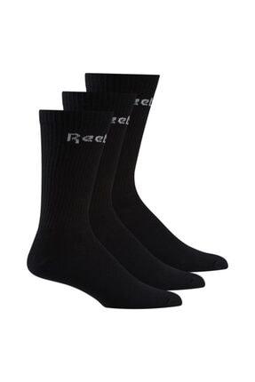 Reebok Gh0331 Act Core Unisex Siyah Uzun 3'lü Çorap