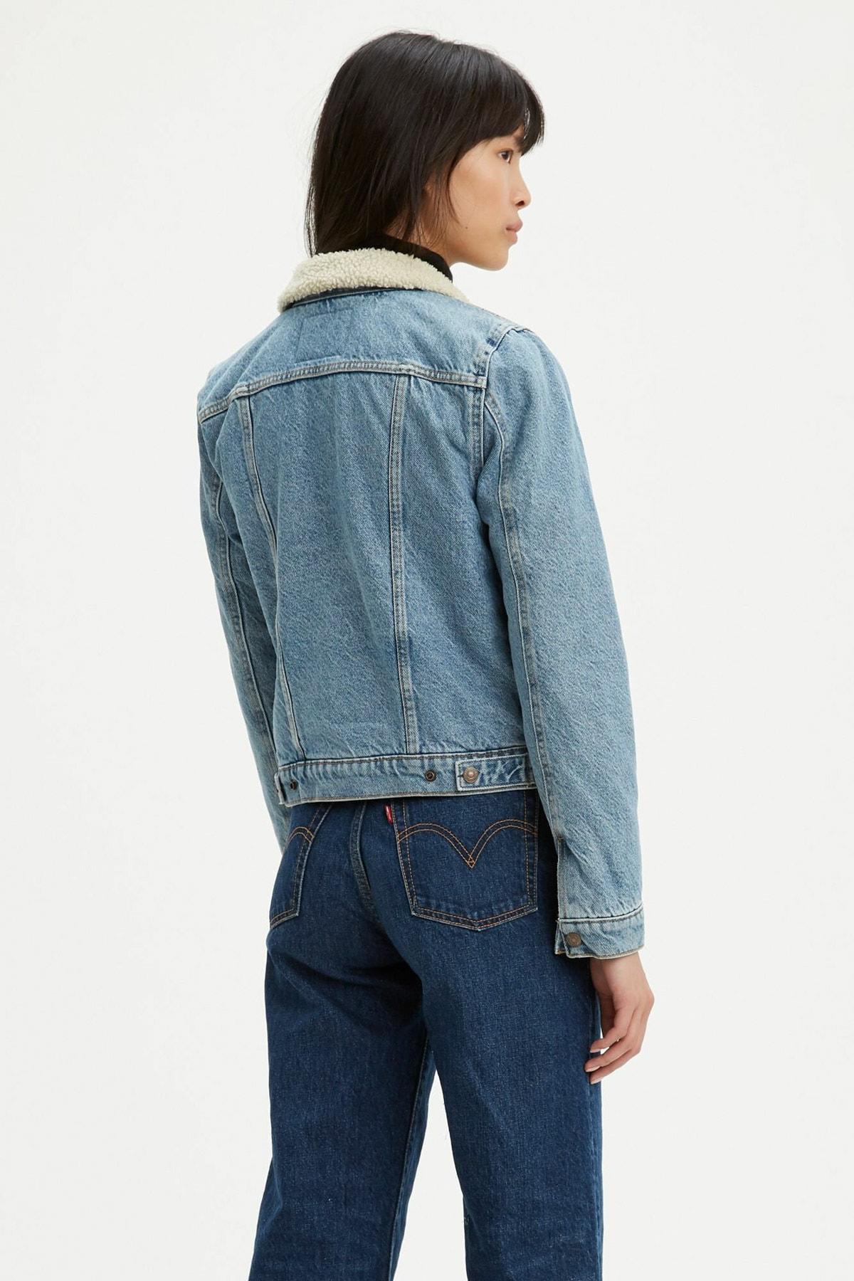 Levi's Kadın Jean Ceket 36136-0000 2