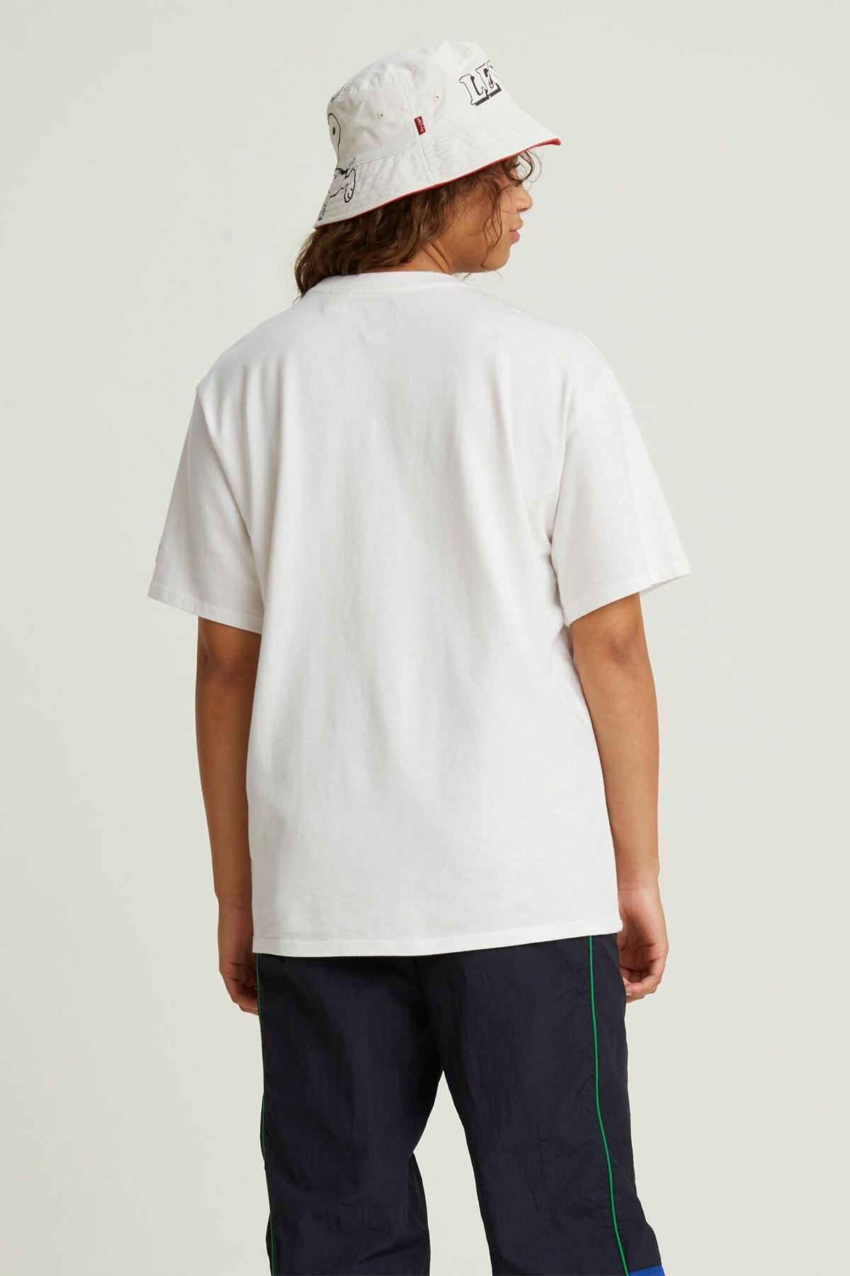 Levi's Kadın Beyaz Oversize T-Shirt 56152-0003 2