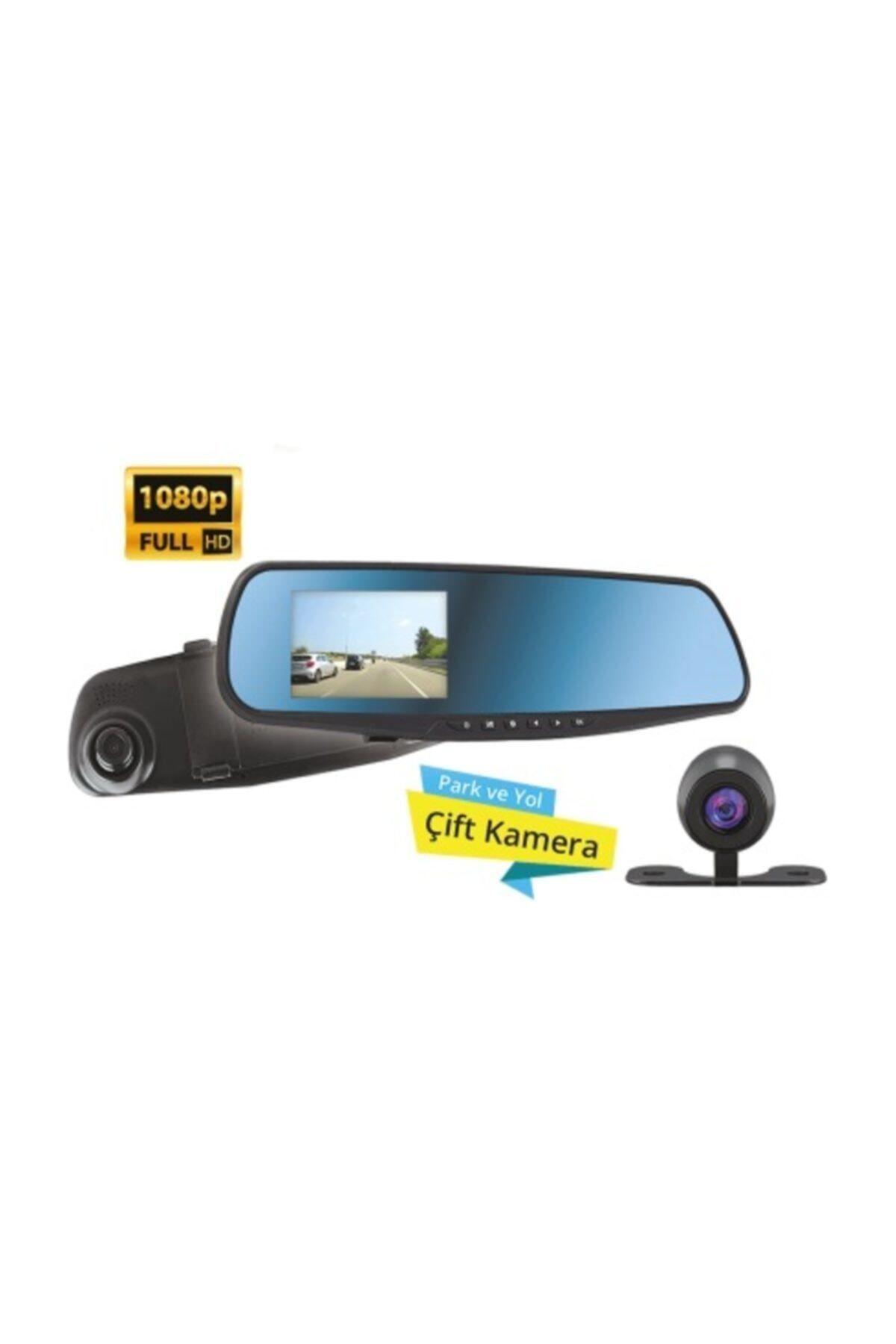 Piranha Full Hd Araç Içi Yol Kayıt Park Kamerası Dikiz Ayna 1325 2