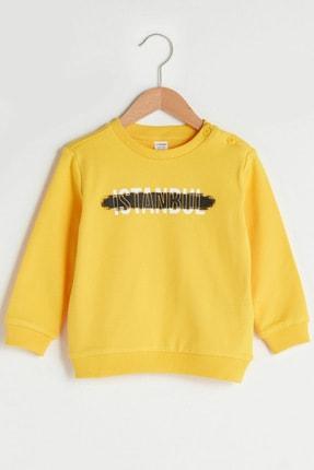 LC Waikiki Erkek Bebek Orta Sarı G4L Sweatshirt