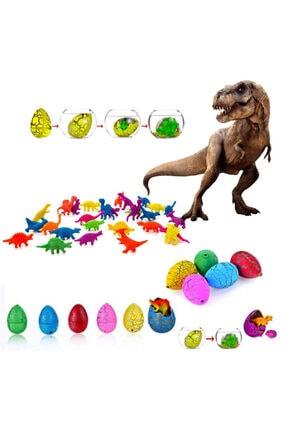 Limmy Suda Büyüyen Dinazor Yumurtası Küçük ( Su Maymuncuğu) Dinozor Yumurtası - 12 Adet