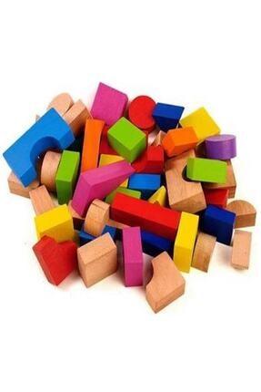 BEMİ Ahşap Bloklar 40 Parça /