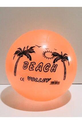deniz sport Büyük Silikonlu Plastik Plaj Topu