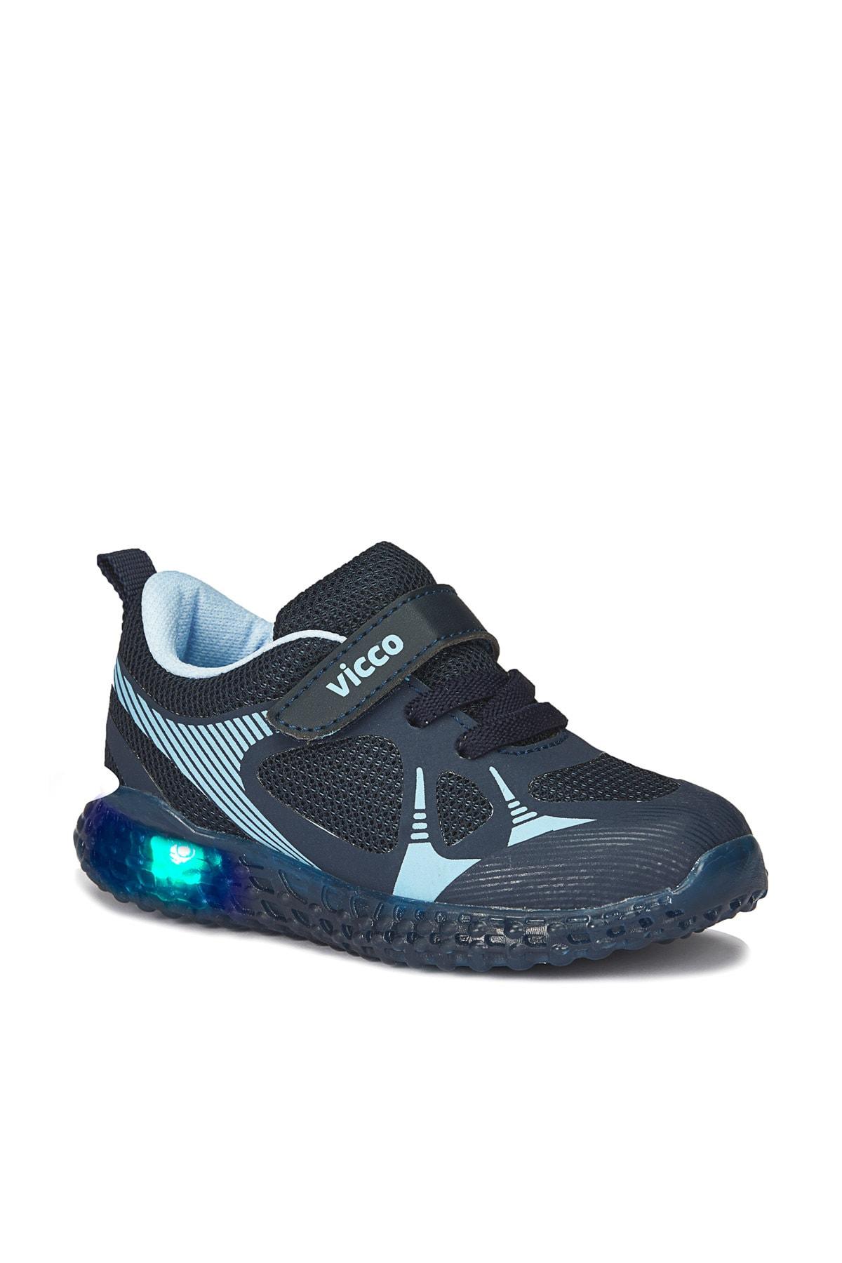 Vicco Figo Erkek Çocuk Lacivert Spor Ayakkabı 1