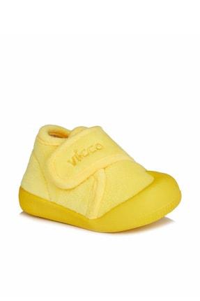 Vicco Color Rahat Kalıp Unisex Ilk Adım Sarı Panduf