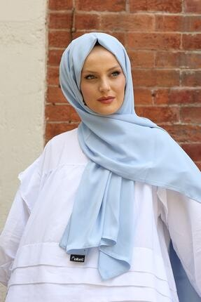 Stella Medine Ipeği Şal Açık Mavi