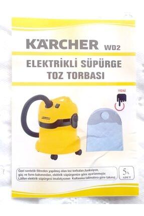 Karcher Uyumlu 5 Adet Toz Torbası