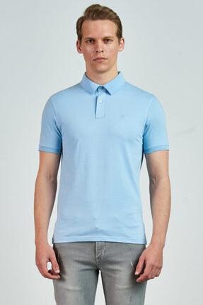 Giovane Gentile Erkek Turkuaz Giovane G. Designers T-Shirt GC06GZ201851