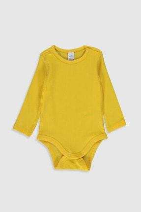LC Waikiki Kız Bebek Sarı Fyp Bebek Body & Zıbın