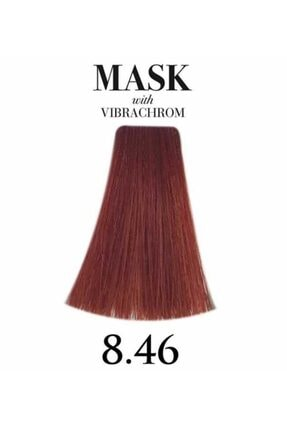 Davines Mask Vibrachrom 8,46 Yoğun Bakır Saç Boyası 100ml