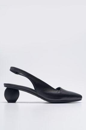 Louis Cardy Lady Siyah Hakiki Deri Kadın Ayakkabı