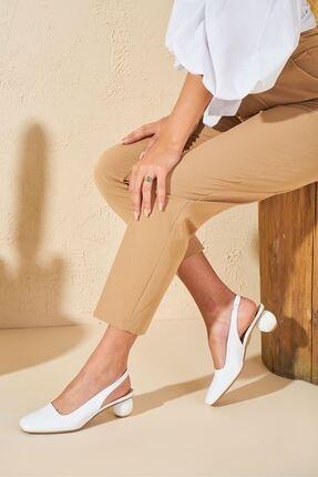Louis Cardy Kadın Lady Beyaz Hakiki Deri Ayakkabı