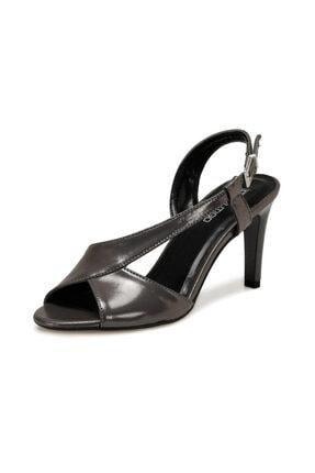 Butigo 20S-523 Antrasit Kadın Topuklu Sandalet 100517408