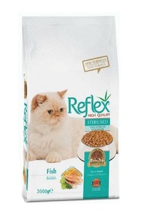 Reflex Sterilised Kısırlaştırılmış Balıklı Yetişkin Kedi Maması 3 Kg
