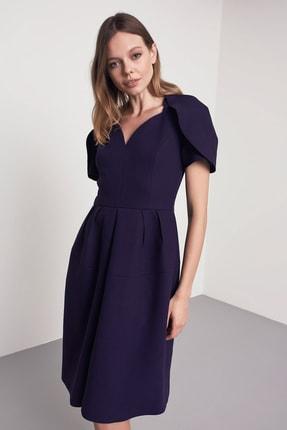 Machka Kadın Mor Elbise MW6190002202123