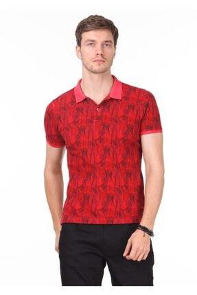 Ramsey Erkek Kırmızı Düz Örme T - Shirt RP10120074
