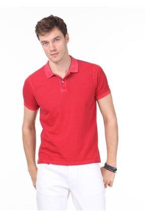 Ramsey Erkek Kırmızı Düz Örme T - Shirt RP10120144