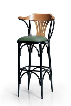 DENGEMA Bar Sandalyesi Yeşil-Kahve-T169/75