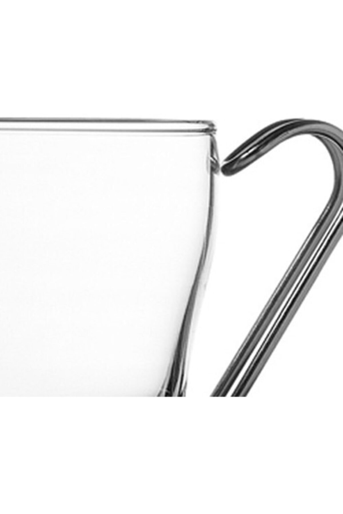 Paşabahçe 2'lı Metal Kulplu Bardak P42665 2