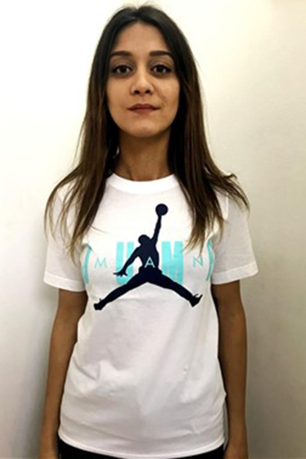 Nike Kids Jordan MJ SS CREW 2 TEE Genç Tişört