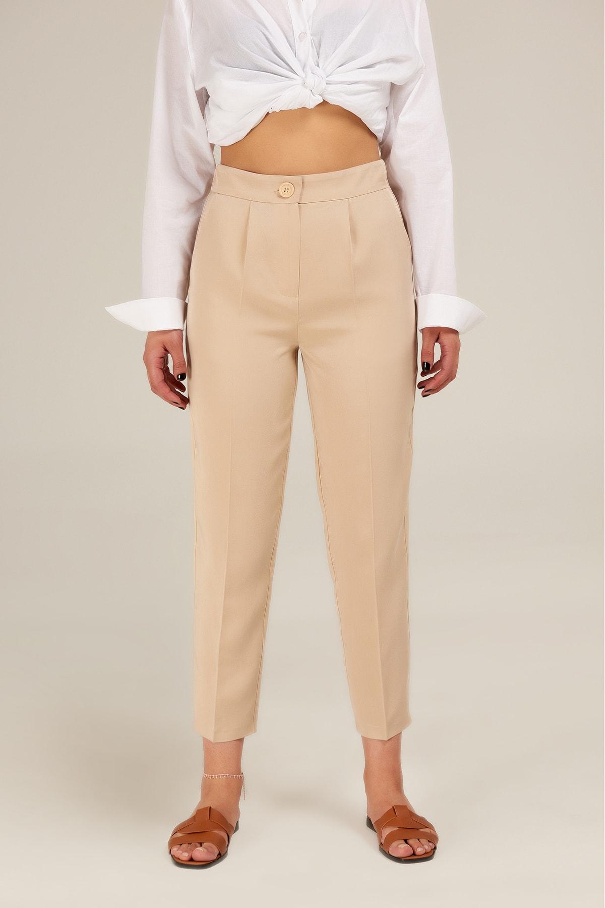 Appleline Kadın Relax Tencel Pantolon 1