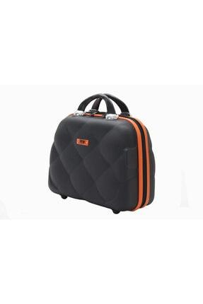 MY SARACİYE My Luggage 50135 Siyah Bakalit Seyahat Makyaj Çantası