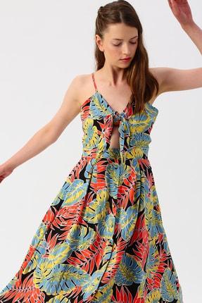 Turuncu Quzu Kadin Gunluk Elbise Modelleri Fiyatlari Trendyol