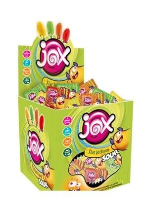 Durukan Şekerleme Jox Sour Meyve Aromalı Yassı Lolipop 120 Adet