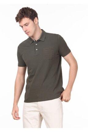 Ramsey Erkek Haki Jakarlı Örme T - Shirt RP10119709