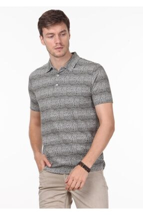 Ramsey Erkek Haki Jakarlı Örme T - Shirt RP10119832