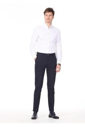 Ramsey Erkek Beyaz Desenli Dokuma Uzun Kollu Gömlek RP10118676