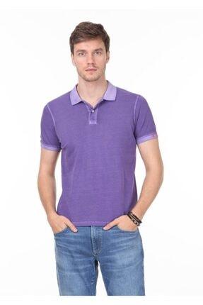 Ramsey Erkek Mor Düz Örme T - Shirt RP10120144