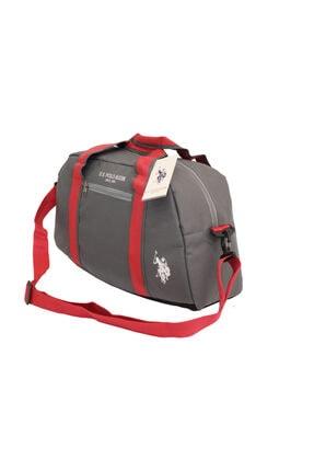 U.S. Polo Assn. Gri Unisex Spor&Seyahat Çantası 6973-O-Gr