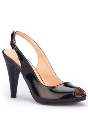 Polaris Siyah Renk Kadın Topuklu Stiletto